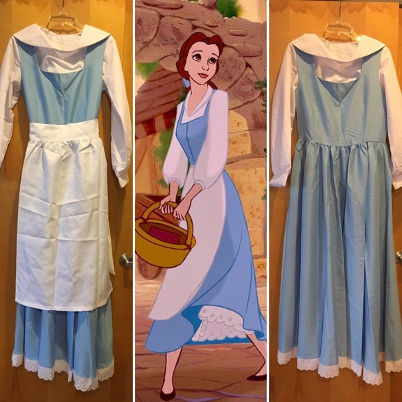 83433932b71 Disney Dresses   Skirts - Beauty   the Beast Blue Belle Dress ...
